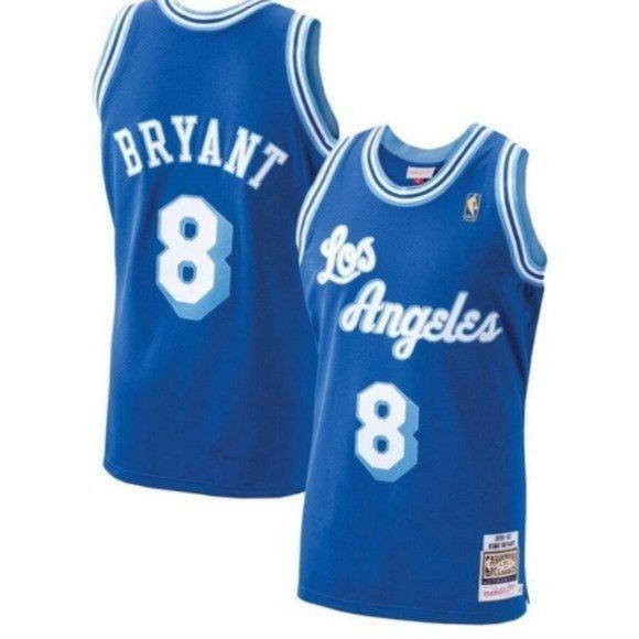 Nike Shirts   Los Angeles Lakers Kobe Bryant Blue 8 Jersey   Poshmark